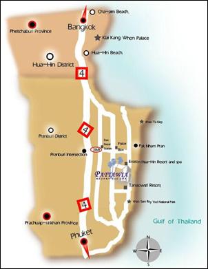 خريطة هواهين