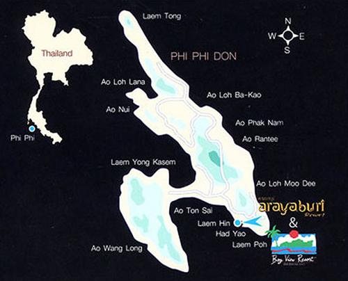 map thailand خريطة تايلاند