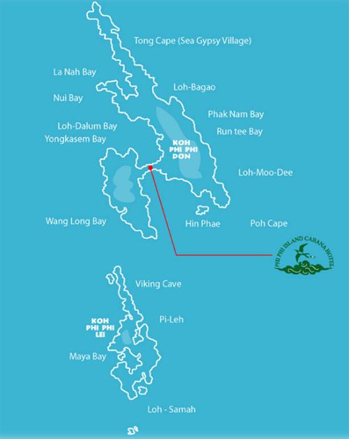 خريطة بي بي ايلاند