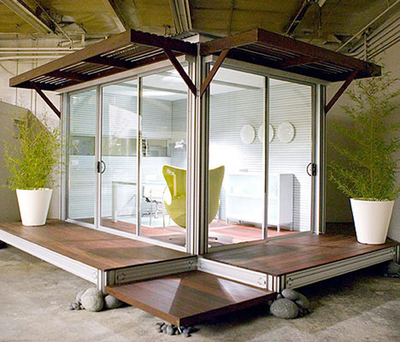 Paper Olive The Blog Design Chic A Modern Backyard Office