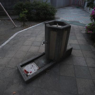 水飲み場:南馬込一丁目南児童公園
