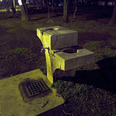 水飲み場:戸山公園