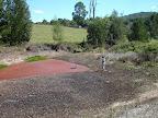 Bottom dam after the rains