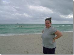 mari on beach sunday