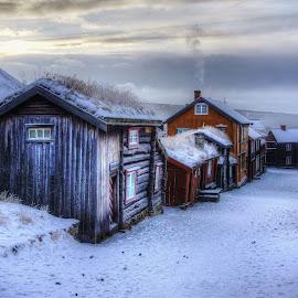 Røros, Norway. by Jan Helge - City,  Street & Park  Historic Districts ( old, røros, old town, buildings, norway )