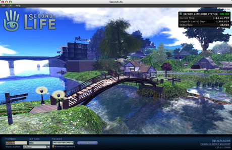 second life splash screen