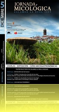 cartel jornada micologica zalamea 800