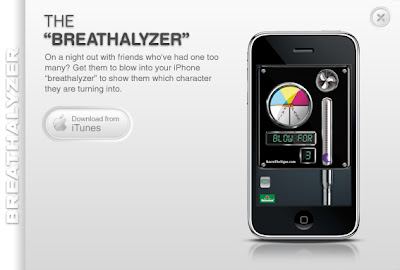 Breathalyzer iPhone App