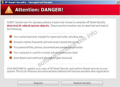 Xp Smart Security Alert