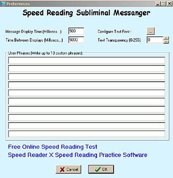 Speed Reading Software