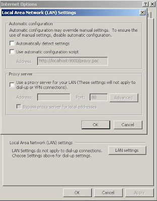 Local Area Network (LAN Settings)