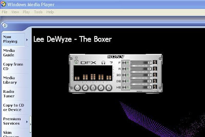 DFX Windows Media Player Plugin