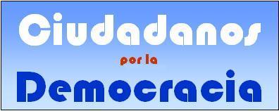 Página inicial de Ciudadanos por la Democracia