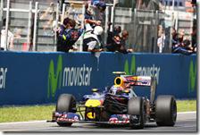 Webber con la Red Bull