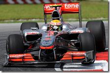 Hamilton con la McLaren