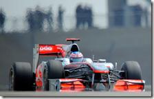 Button con la McLaren