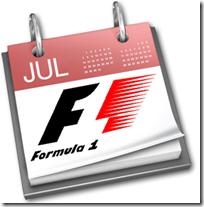 Calendario F1 della stagione 2011