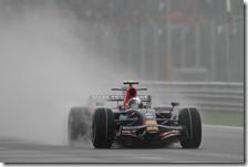 La vittoria di Vettel con la Toro Rosso nel gran premio d'Italia 2008