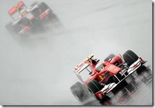 Alonso precede Hamilton nel gran premio della Corea