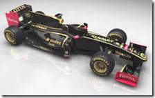 La livrea della Lotus Renault GP Team