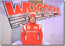 "Alonso all'evento ""Wrooom"""