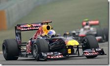 Vettel nelle libere del gran premio della Cina 2011
