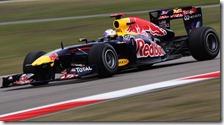 Vettel nelle qualifiche del gran premio della Cina 2011