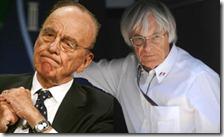 Murdoch e Ecclestone