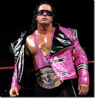 9 Bret Hart IC Champ