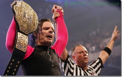 1 Jeff Hardy World Heavyweight Champion
