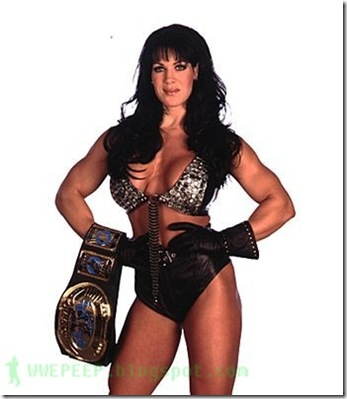 4 WWE Intercontinental Champion Chyna