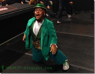 12 WWE Cruiserweight Champion hornswoggle