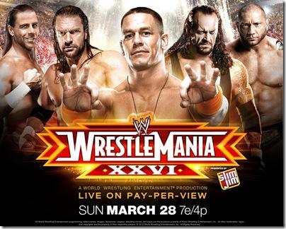 3 WrestleMania XXVI