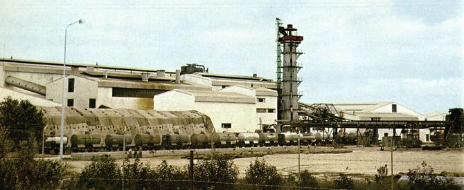 Azucarera de Guadalcacín (1969): Vista general