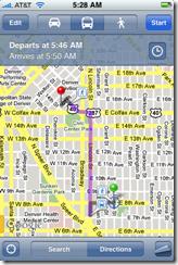 Routes - public transit