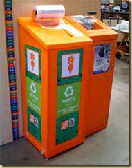 Home Depot CFL Recycling Center