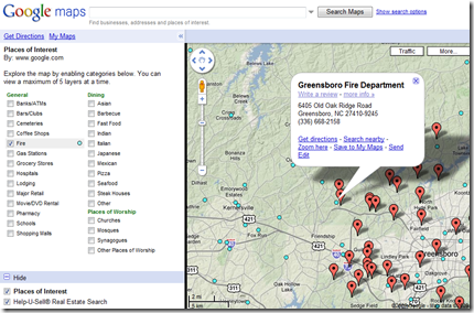 hus usa maplet - my maps search sample firestations and listings