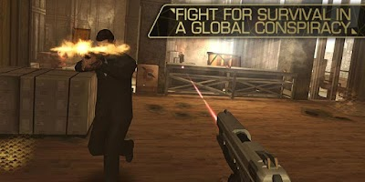 Screenshot of Deus Ex: The Fall