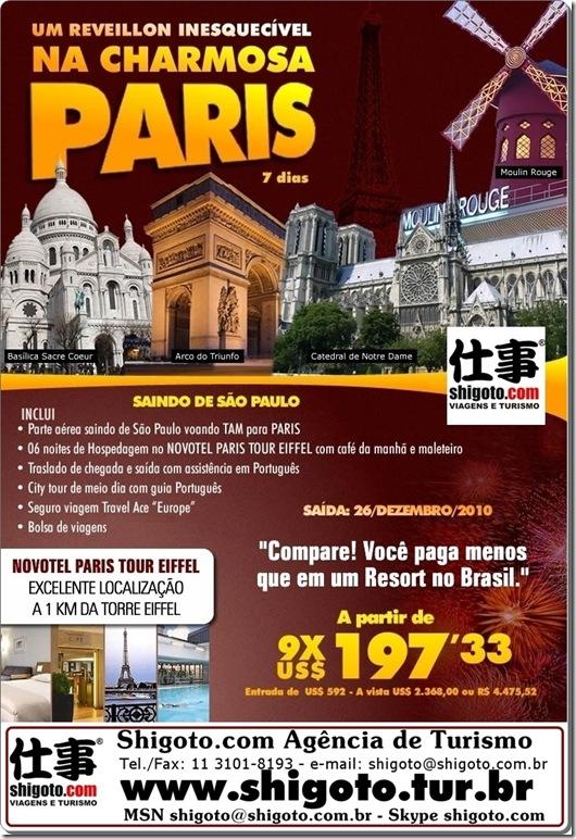 Reveillon em Paris
