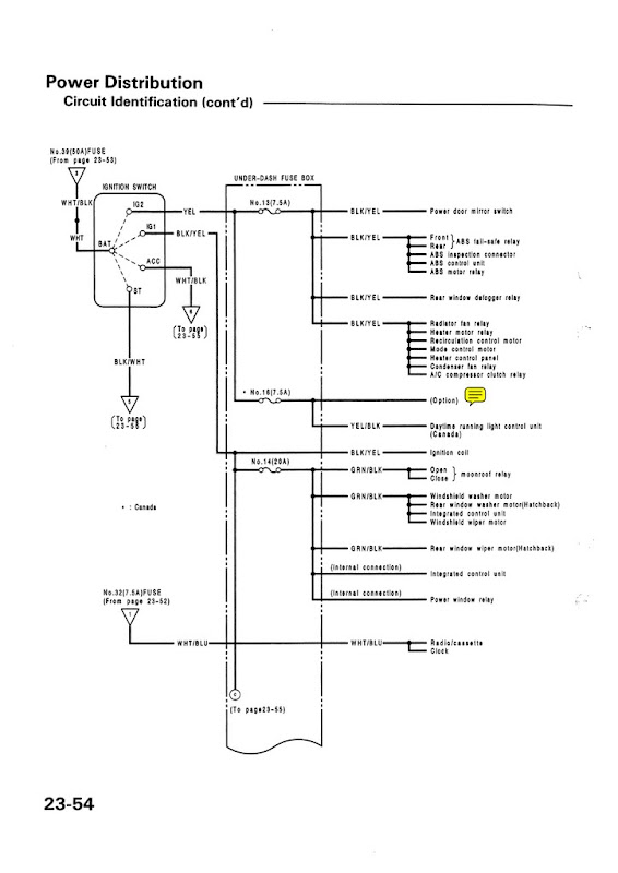 Electrical_USDM_92 95_civic_Page_054 95 galant wiring diagram 95 civic wiring diagram, 95 neon wiring 89 Mitsubishi Galant at mifinder.co