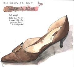 EDM Challenge #1 Shoe