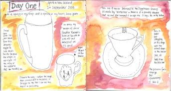 Day 1 Mug & Cups spread