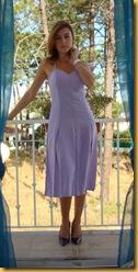 Vestido Lilás com Machos