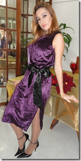 Vestido Ano Novo Aveludado1