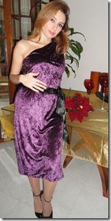 Vestido Ano Novo Aveludado2