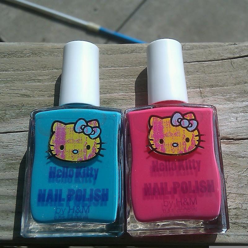 Polish Insomniac: Nail Mail, Hello Kitty Edition
