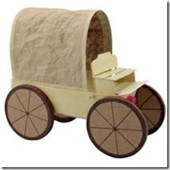 Free Kids Craft Covered Wagon
