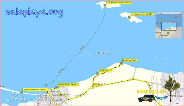 Piritu - Playas desde Jose hasta La Laguna de Piritu