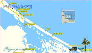 Laguna de Tacarigua - Playas desde Club Miami a Linda