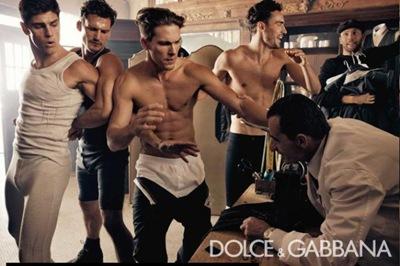 Dolce & Gabbana Inverno 10-11 por Steven Klein (2)